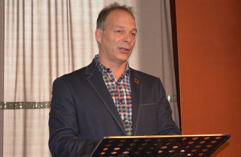Éric Charbonneau, maire d'Acton Vale.
