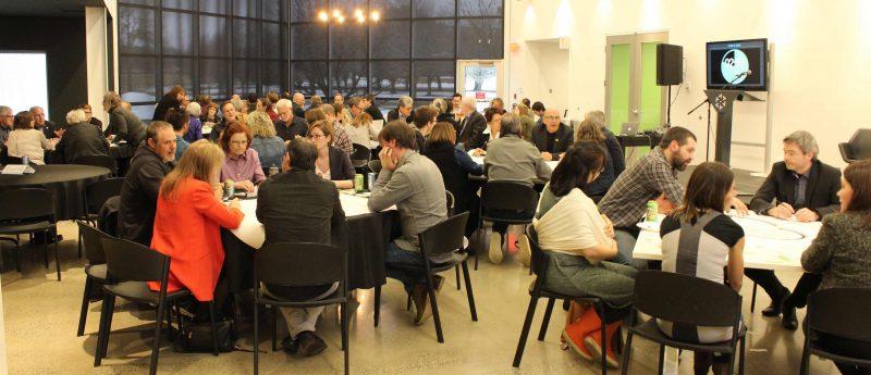 Valcourt 2030 invite les citoyens du Grand Valcourt à son « Grand Rendez-vous » qui aura lieu aujourd'hui, dès 16 h 30, au Musée de l'ingéniosité J.-A. Bombardier. L'an dernier, 75 personnes ont assisté à cette activité. (photo courtoisie Valcourt 2030)