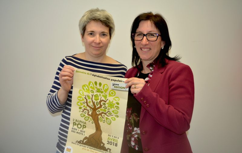Catherine Mignault et Isabelle Giguère, respectivement animatrice et coordonnatrice de l'APAJ de Saint-Hyacinthe.