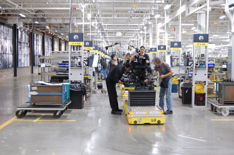 L'entreprise BRP se prépare à embaucher 325 employés pour sa production de motoneiges Ski-Doo, dans ses installations de Valcourt. (photo courtoisie BRP)