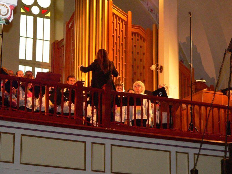 La chorale La Farandole présentera son 15e concert de la série « Choeur et orgue » le dimanche 3 juin, à 15 h, à l'église Saint-Théophile de Racine.