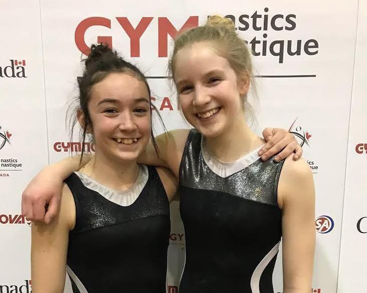 Léonie Pépin et Rose Bastien ont très bien fait lors de la Coupe Canada TD.