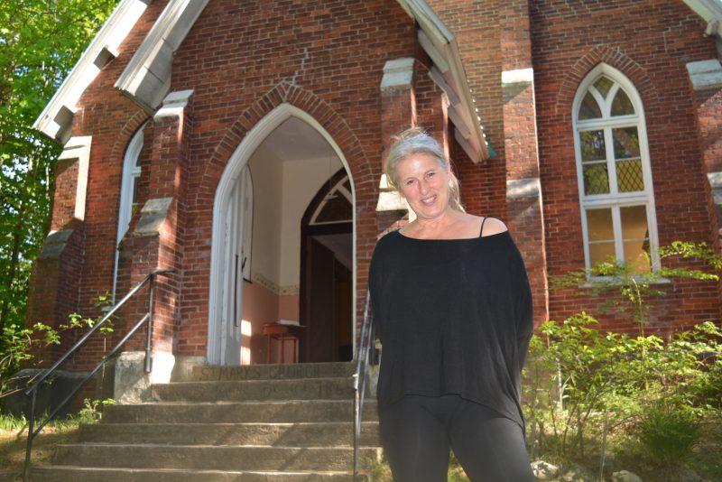 Margie Gillis souhaite procéder prochainement à la rénovation de l'église St. Mark.