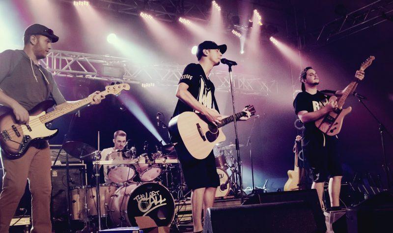 The Last Call, un groupe valois formé de Nathan Beaudoin, Sébastien Blanchette, Jérémy Delorme et Alexi Lapointe, sera en spectacle aux Mardis Chauds, le 3 juillet ainsi qu'au Show de la rentrée le 16 août. (photo Art Nancy Clair)