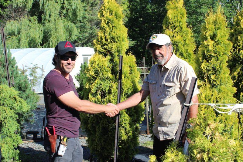 L'entreprise familiale Au Jardin de Jean-Pierre sera reprise, dès l'été prochain, par Jean-François Devoyault.