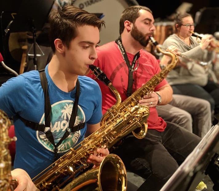 La troupe valoise orchestrée par Michel Laliberté, Musiphonie Big Band, sera en spectacle aux Mardis Chauds, le 17 juillet.