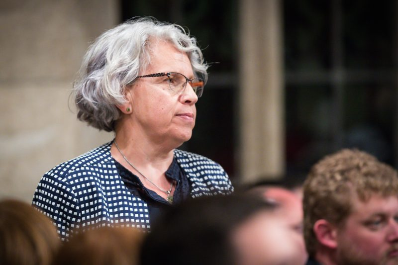 Brigitte Sansoucy Question Period / Période des questions    Ottawa, Ontario, on 04 June, 2018.   © HOC-CDC  Credit: Bernard Thibodeau, House of Commons Photo Services