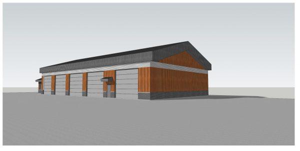 Un garage municipal plus fonctionnel et plus grand verra le jour à Upton