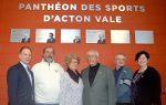 La Ville d'Acton Vale intronise quatre bâtisseurs