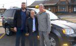 Les taxis de retour à Acton Vale