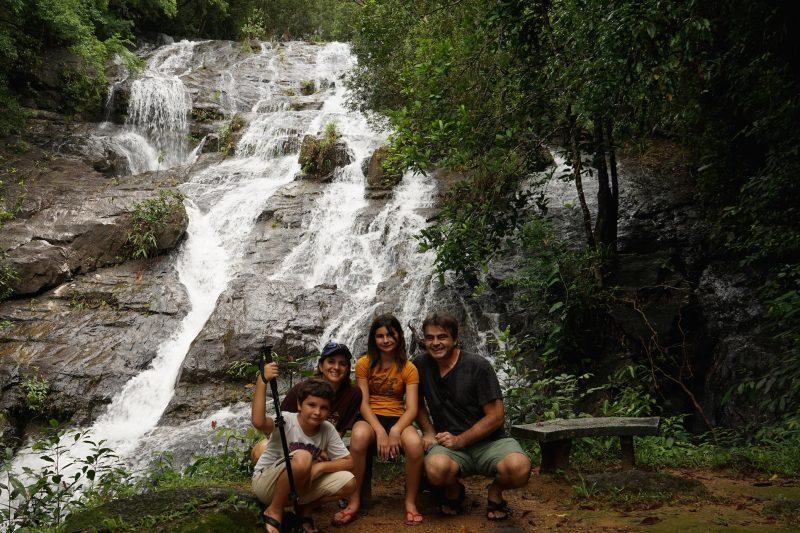 Une famille très heureuse d'avoir choisi le Canton de Roxton