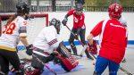 Premier tournoi de dek hockey interentreprises de Valcourt