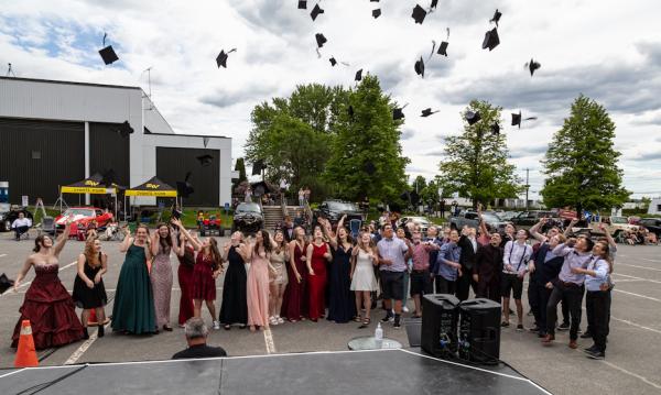 Une remise de diplômes en mode «ciné-parc » à l'Odyssée