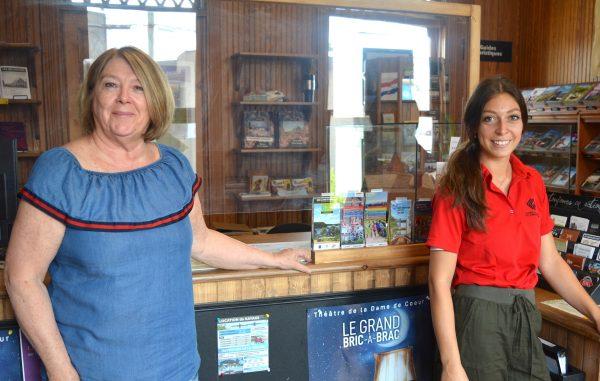 Le bureau d'accueil touristique ouvert à temps plein cet été