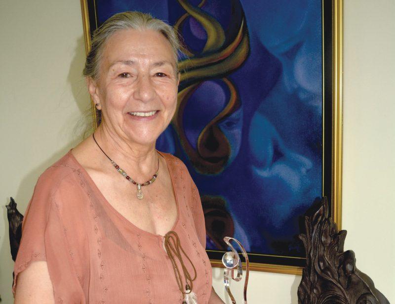 Lise B. Tétreault vedette d'un prestigieux magazine international