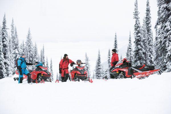 BRP lance la motoneige Lynx en Amérique du Nord
